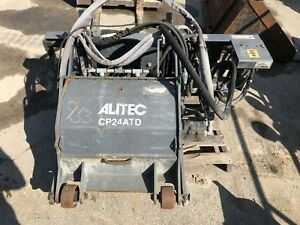 24 Alitec Cp24atd Skid Steer Cold Planer Attachment High Flow