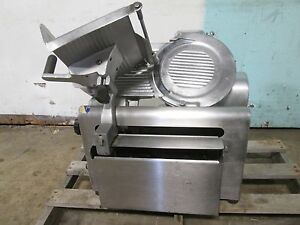 globe 875lr H d Commercial Counter top nsf 12 blade Automatic Meat Slicer