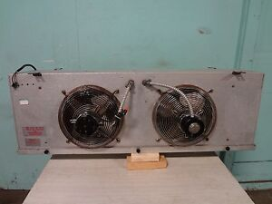 Heavy Duty Commercial 2 Fans Low Profile Evaporator For Walk in Cooler