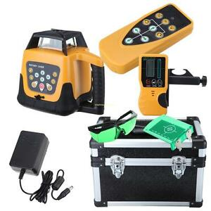 500m Electronic Automatic Self leveling Rotary Rotating Green Beam Laser Level