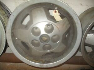 Jaguar Xjs Starfish Alloy Wheel 1976 1991 With Hubcap And Badge Cac4379