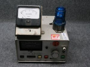 Associated Research Inc 4050at Ac Hypot Ground Continuity Tester tested