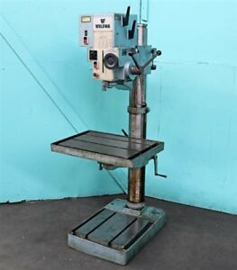 Wilton 25 Powerfeed Geared Head Drill Press 24500