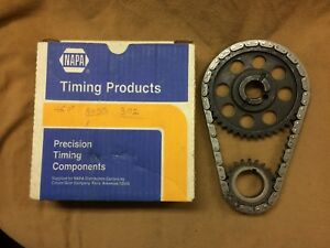 Ford 289 302 Boss 302 351w New Napa Timing Chain Sprocket Kit Set W Directions