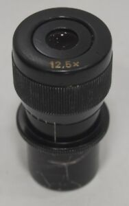 Old Style 12 5x 25mm Eyepiece For Zeiss Opmi Surgical Microscope
