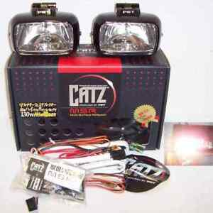 Catz Msr Crystal Clear Fog Driving Lights Fits Piaa Kc Hella 55w
