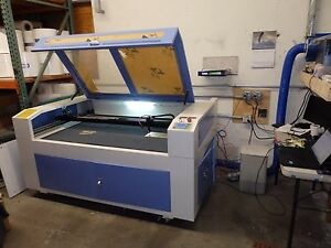 Lasea Co2 Laser Engraving Cutting Machine 80w Tube 33 X 56 Cutting Area B7