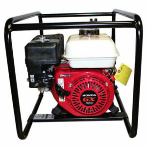 New Gas Water Trash Pump Honda Gx160 Engine