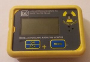 Ludlum Model 25 Personal Radiation Monitor Dosimeter Pre owned