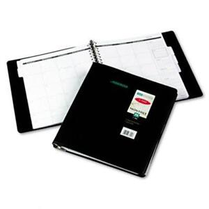At a glance 7029605 Five year Unruled Monthly Planner 9 X 11 Black
