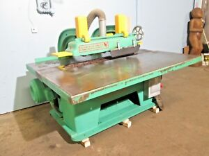 diehl 750 H d Industrial 15hp Straight line Rip Saw Woodcutting Machine