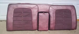 63 Chrysler New Yorker 4 Dr Rear Seat Back check This Out