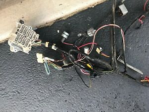 71 72 73 74 Charger Roadrunner Oem Standard Dash Wire Harness A c Car W clock