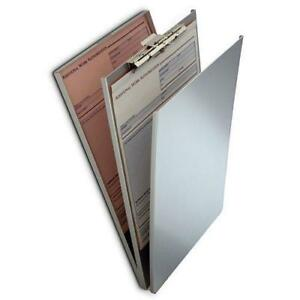 Saunders 10022 Heavy Duty Aluminum Top Opening A holder 9 5 X 12 Clipboard