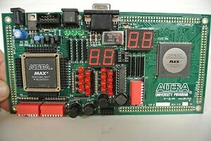 Altera University Program Max 2 Up2 Development Board used