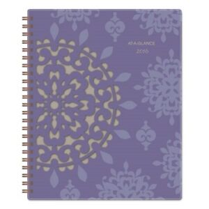 At a glance 122905 Vienna Weekly Monthly Appointment Book Purple