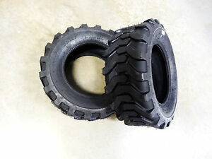Two New 23x8 50 12 Carlisle Trac Chief Industrial R 4 Tires 51s3g8