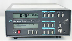 Newport Optical Power Meter Model 835