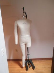 Global Model Forms 2008 Full Body Male Medium Sz 38 40 W Wolf Foot Pedal Base