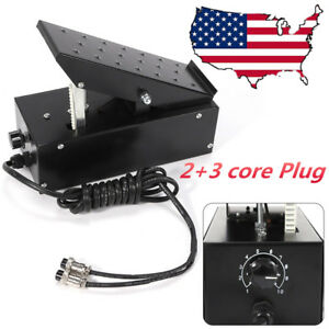 2 3 Pin Tig Foot Control Pedal Power Current Switch For Welder Welding