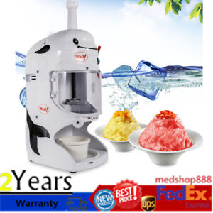 Commercial Electric Auto Ice Cream Shaver Shaving Machine Snow Ice Shaver Maker