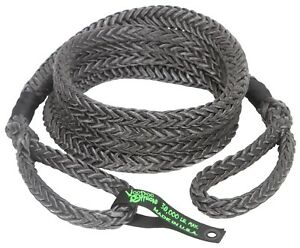 Voodoo Kinetic Recovery Rope 7 8 X 30 38 000 Rated Free Bag Black 1300027