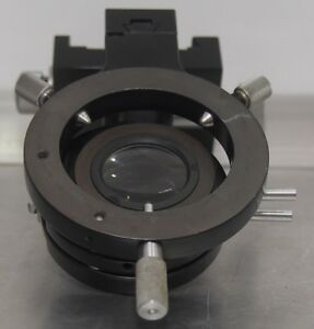 Zeiss Black Microscope Substage Condenser Carrier