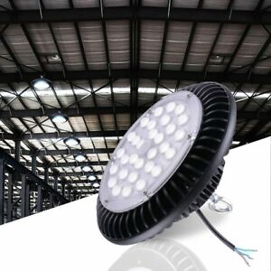 Delight 100w Ufo Led High Bay Light Lamp 12000lm Commercial Factory Warehouse