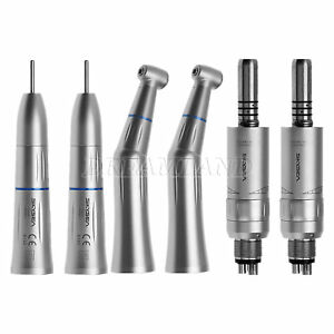 2 dental Slow low Speed Push Button Handpieces Kit Inner Water Spray Fit Kavo 4h
