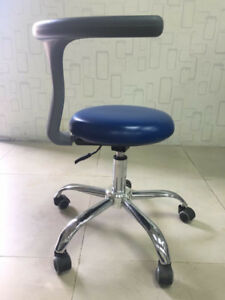 Dental Mobile Doctor s Stools Medical Surgery Dentist Adjustable Chair Pu Stool