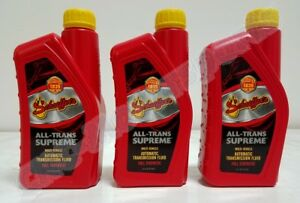 0204sat Schaeffers All Trans Supreme Transmission Fluid Dexron Mercon Atf 3 4