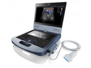 Edan Acclarix Ax4 Ultrasound With Linear Probe And Cart