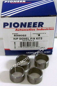 Ford 390 429 460 Cylinder Head To Block Alignment Dowels Pioneer 839002