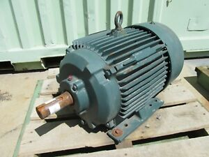 20 Hp Reliance Electric Duty Master Motor P25g040lmf r 2