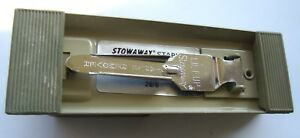 Vintage Bates Model 88 Stowaway Stapler Nos With Box inv209