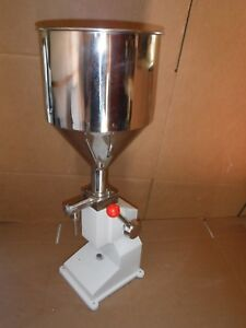 Commercial Stainless Steel Sausage Meat Stuffer Filler Vertical Machine