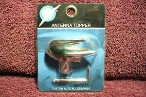 Vtg Nos 40s 50s Style Antenna Topper Auto Truck Motorcycle Hot Rod Accessory 4