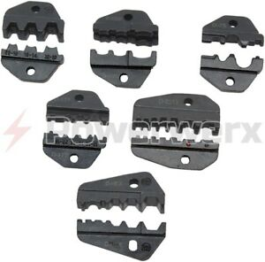 Interchangeable Accessory Die Sets For The Tricrimp Powerpole Crimping Tool
