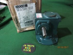 New Dodge Baldor Right Angle Worm Gear Speed Reducer 15q05l56 Ratio 5 1 1 750 Hp