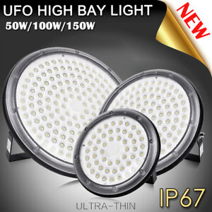 100w 150w Upgrade Ip67 Ufo Led High Bay Light Lamp Factory Warehouse Industrial