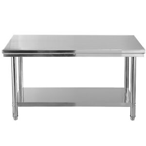 Kitchen Restaurant Stainless Steel Commercial Kitchen Work Food Prep Table Desk