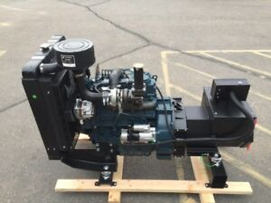 New 40kw Bare Bones Mobile Generator Perfect For Spray Foam Rigs Ships Now
