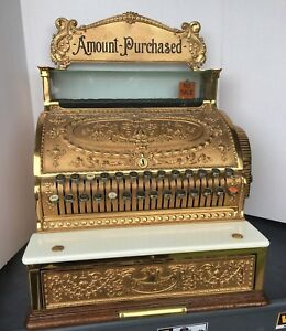 Antique Brass Finish refurbished store Cash Register 24 X 17 x 16 Outstanding