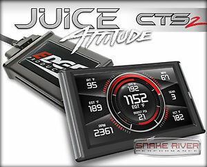 Edge Cts 2 Juice W Attitude Race Tuner For 98 5 00 Dodge Ram Cummins Diesel 5 9l