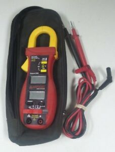 ma4 Amprobe Acd 14 Plus Cat Iii Clamp Multimeter Used