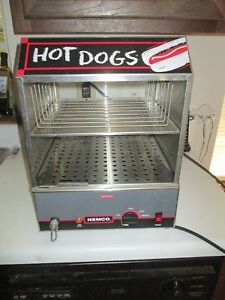 Nemco 8300 Nsf Commercial Foodservice Hot Dog Bun Steamer 150 30 Capacity