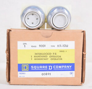 Square D Interlocked Push Button Switch Type Kr 12u
