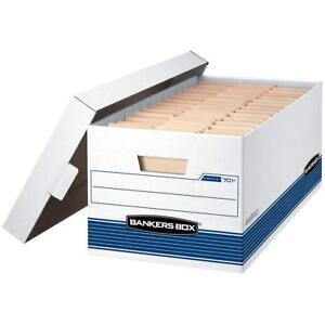 Bankers Box Stor file Medium duty Storage Boxes With Lift off Lid Letter