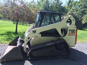 Bobcat T190 Wide Tracks 2009