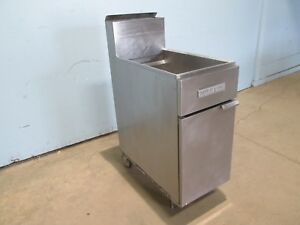 american Range Af 35 50 Heavy Duty Commercial nsf Lp Gas 40 Deep Fryer